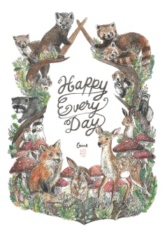 Happy Every Day / Happy wildlife