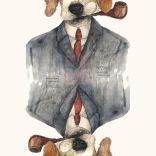 Mr.Lou the beagle