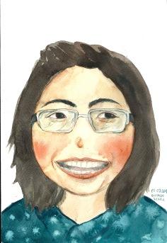 Teacher Patcharin, art teacher