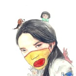 Jidrid, Thai artist and therapist based in NYC