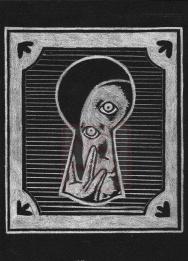 Knock' Knock' drawing, 2015