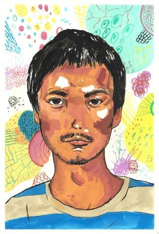 Peerawayt, Thai artist.